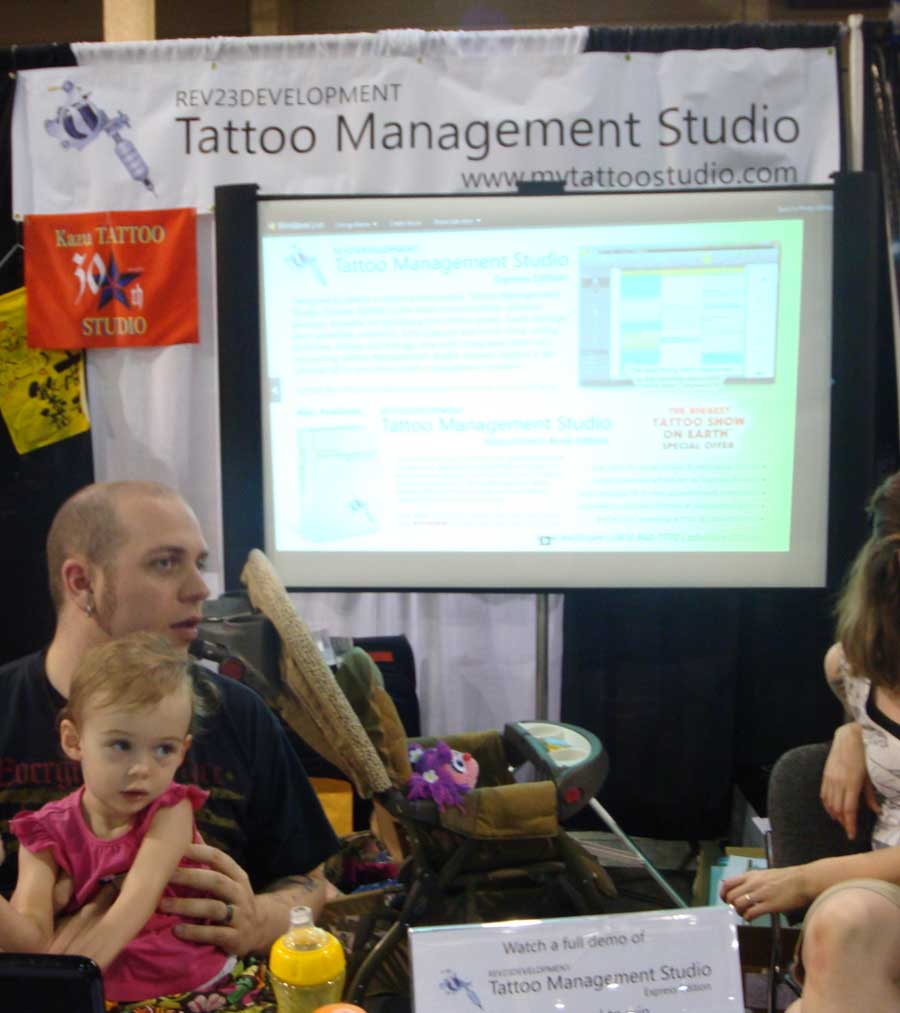 REV23 first tattoo convention in 2010