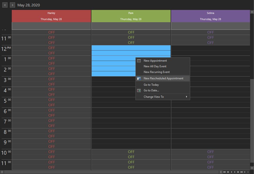 REV23 Desktop Reschedule Appointment Step 4