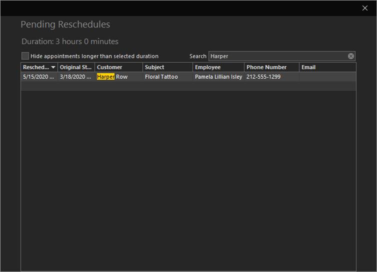 REV23 Desktop Reschedule Queue