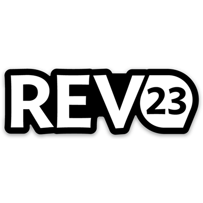 REV23 Die Cut Sticker