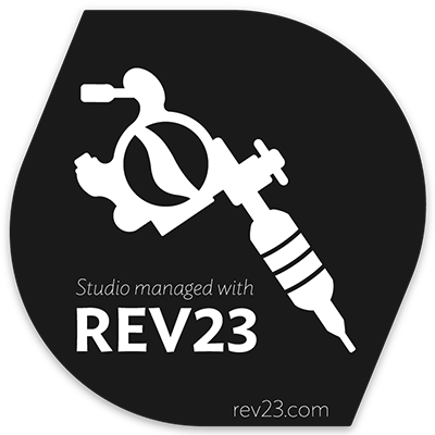 Managed with REV23 Vinyl Static Cling
