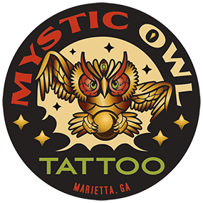 REV23 - Mystic Owl Tattoo